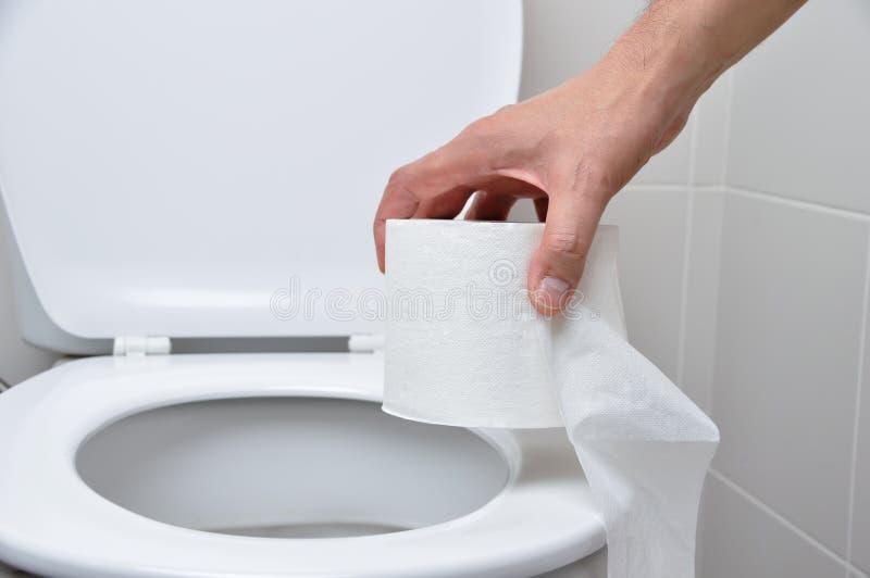 Toilet bowl royalty free stock photos