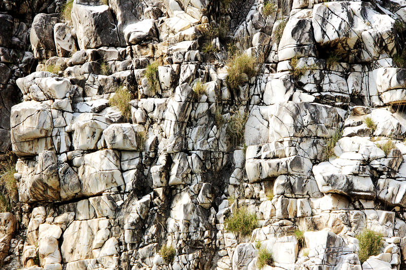 Close-up of Marble Rock royalty free stock photo