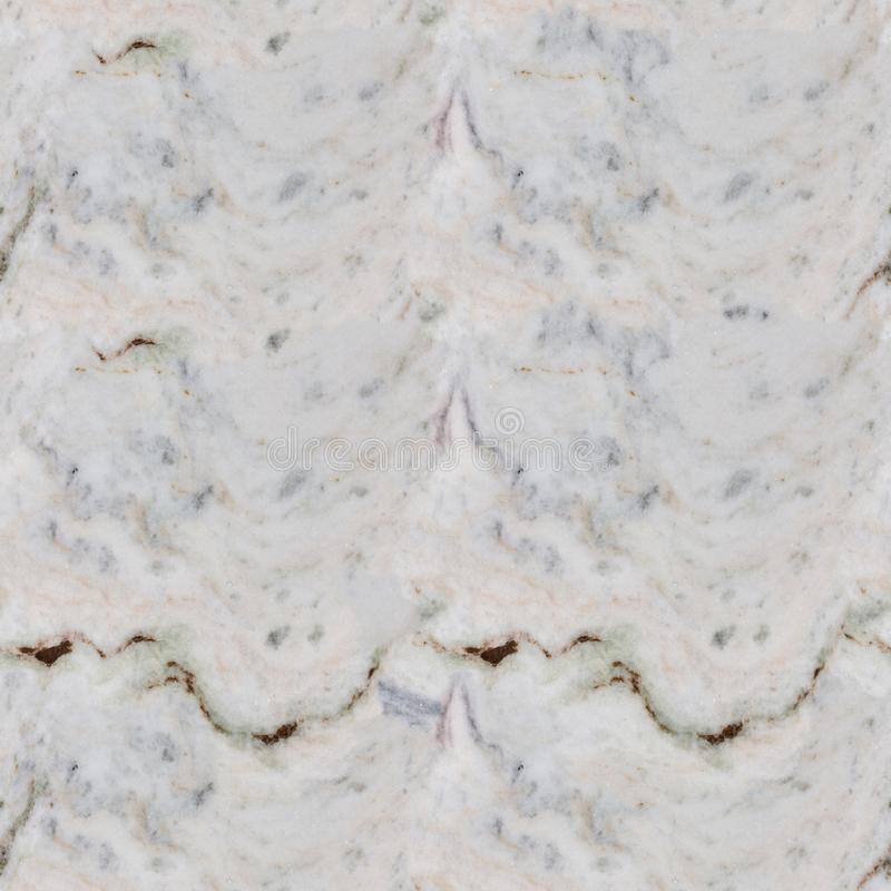 Close up of marble texture pattern. Seamless square background, tile ready. royalty free stock photo