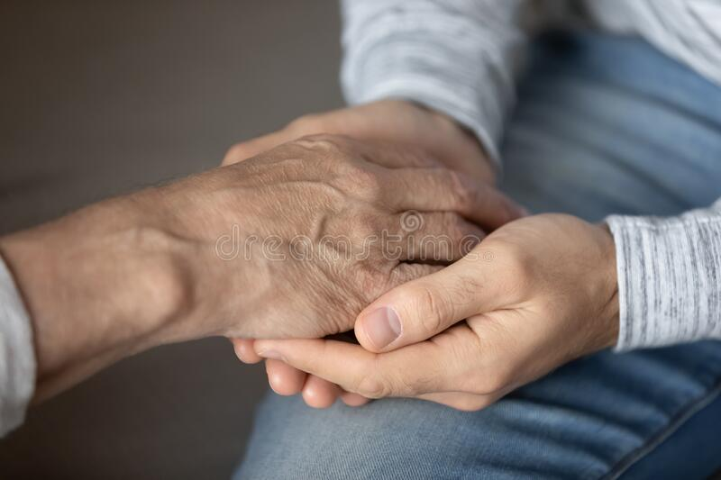 Close Up Of Adult Mom And Daughter Holding Hands Stock Image - Image of  parent, embrace: 174916919
