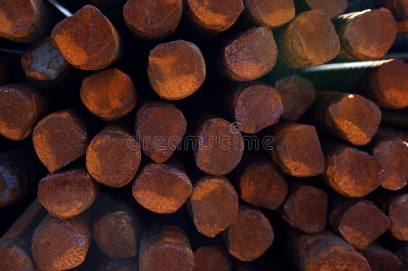 Close up of metal bars royalty free stock image