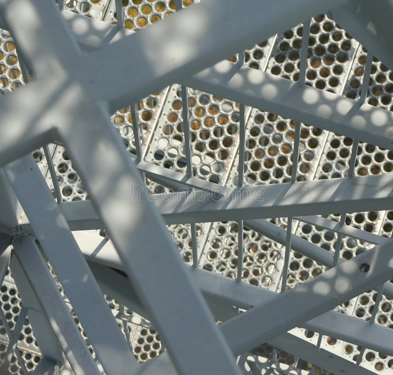 Download Close-up Of A Metal Stairway Stock Photo - Image: 1093496