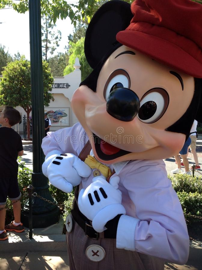 Close up of Mickey Mouse stock photo