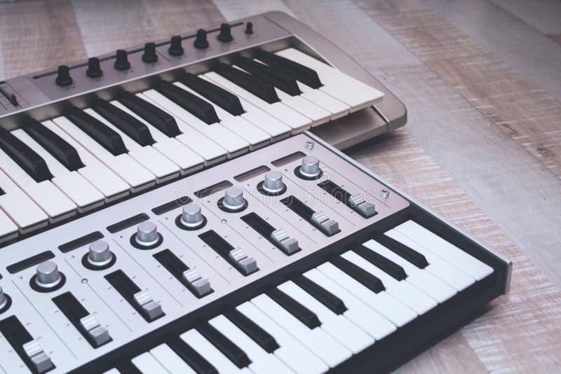 Close up MIDI Controller stock image  Image of equipment - 84370023