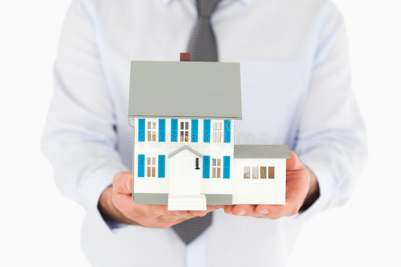 Download Close Up On A Miniature House Stock Image - Image: 20876213