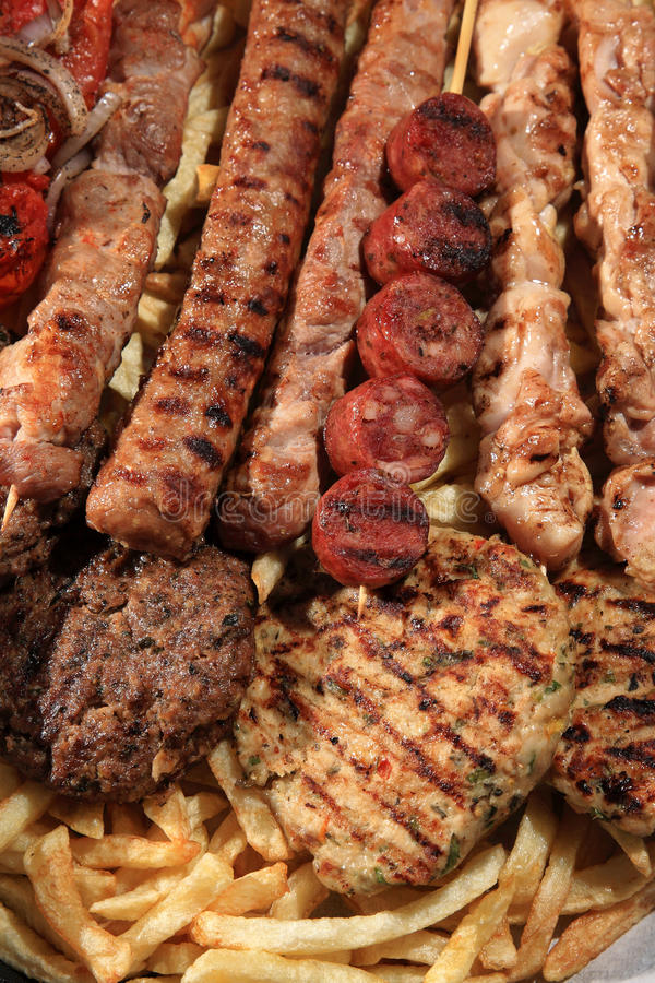 Mix Grill Stock Image