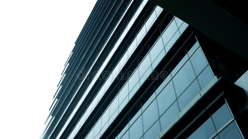 Modern office building.building with copy space.windows office building for background royalty free stock photo