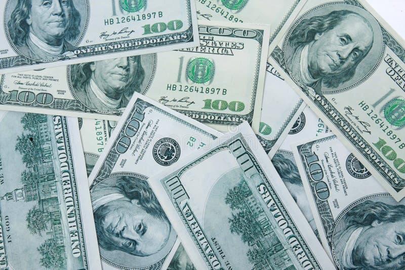 Close-up Money Dollars Background Royalty Free Stock Image