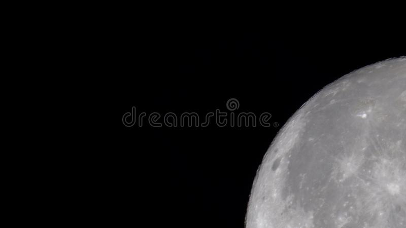 Close up of the moon royalty free stock images