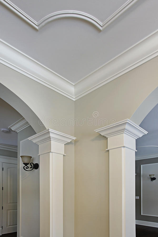 Close up of moulding royalty free stock photography