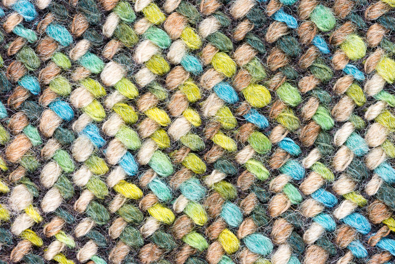 Close-Up of a multi colored fabric pattern for background purpo. Detailed Close-Up of a multi colored fabric pattern for background purposes royalty free stock image