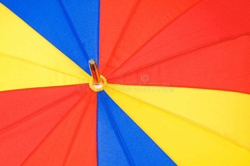 Download Close Up Of Multi Sector Umbrella Stock Photo - Image: 12813980