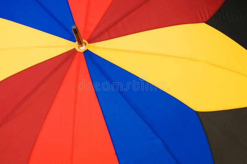Close Up Of Multi Sector  Umbrella Stock Photo
