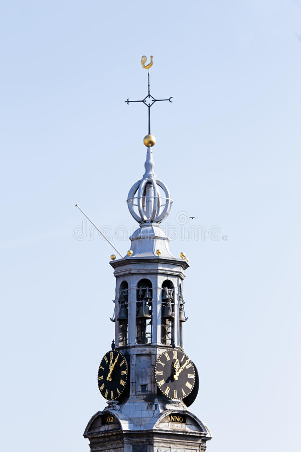 Download Close Up From The Munt Tower In Amsterdam Netherlands Stock Photo - Image: 35579294