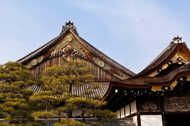 Close up Ninomaru palace, Nijo castle royalty free stock photos