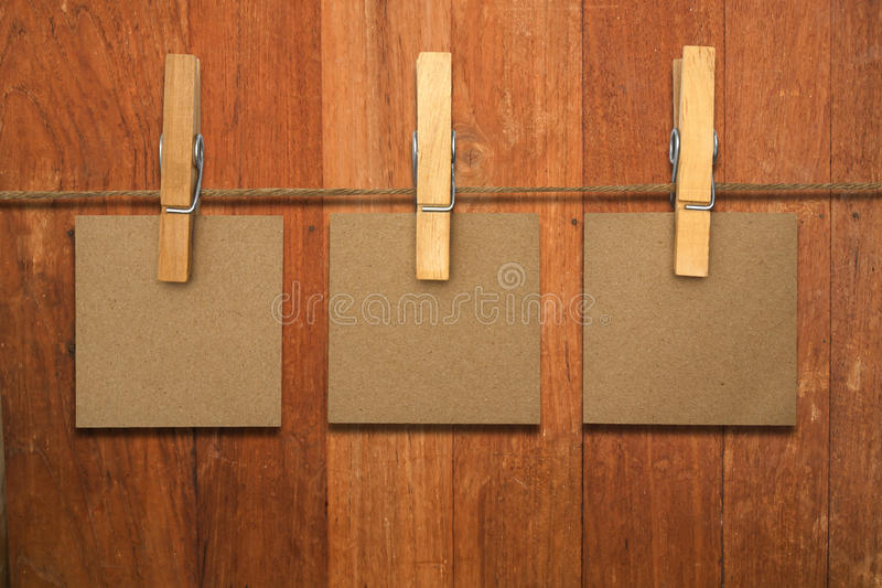 Download Close Up Of A Notes And A Clothes Pegs Stock Image - Image of line, label: 39506037