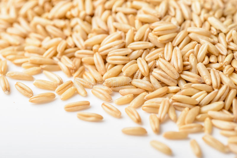 Close up of oats stock photo