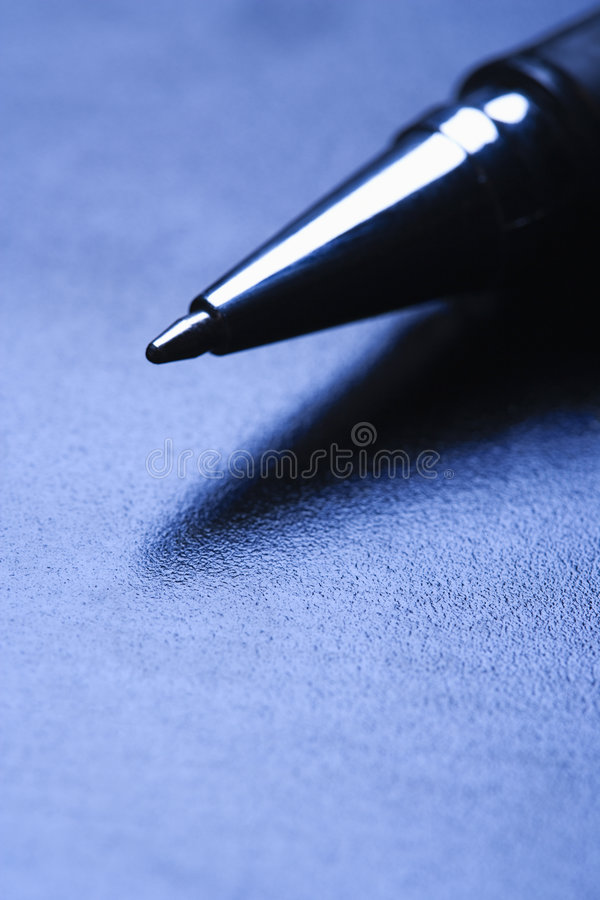 Free Close-up Of A Pen Tip. Royalty Free Stock Photos - 2044658