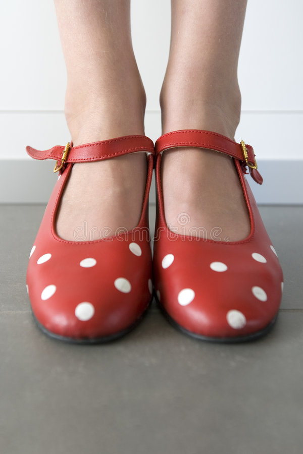 Free Close-up Of Feet With Flamenco Shoes Stock Photo - 6977250