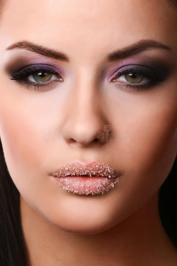 Free Close-up Of Female Face Stock Photography - 9439842