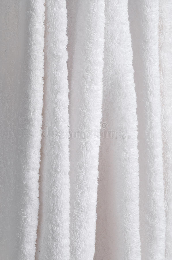 Free Close Up Of Hanging White Towels Stock Photo - 12674500