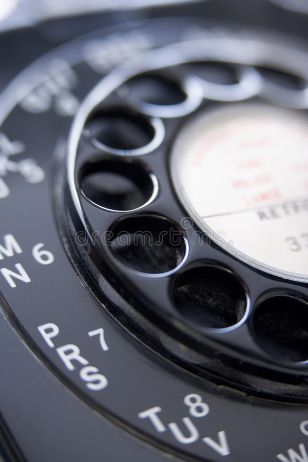 Free Close Up Of Old-Fashioned Telephone Stock Photo - 7741730