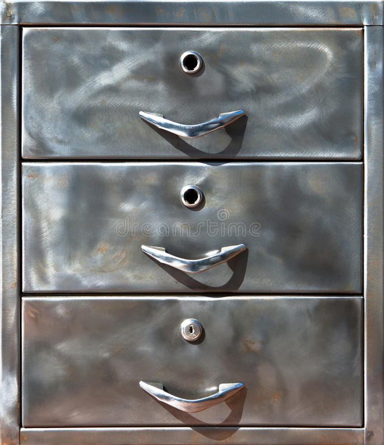 Free Close-up Of Old Metal Locker Royalty Free Stock Photography - 20848197