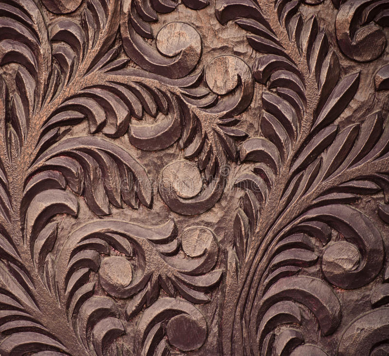 Free Close-up Of Rough Wood Carving Royalty Free Stock Photography - 14495417