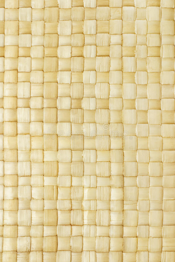 Free Close Up Of Woven Palm Leaves Mat Stock Photo - 9407690
