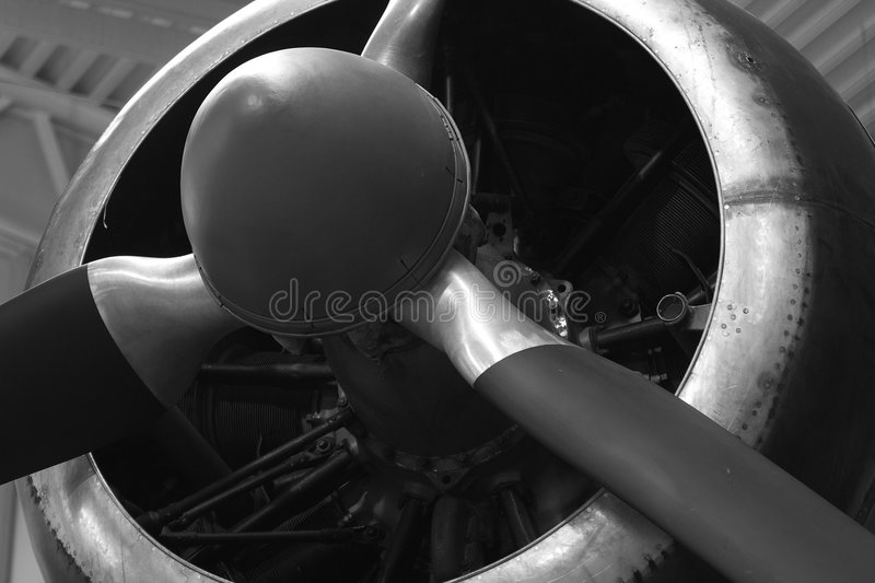 Close-up of Old Propeller