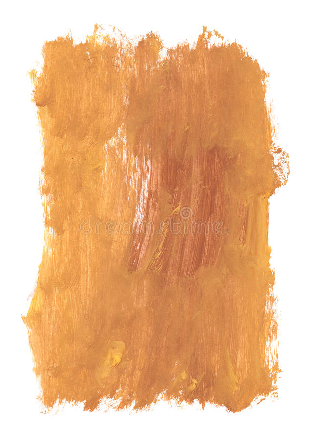 Close up of paint strokes. On white background vector illustration