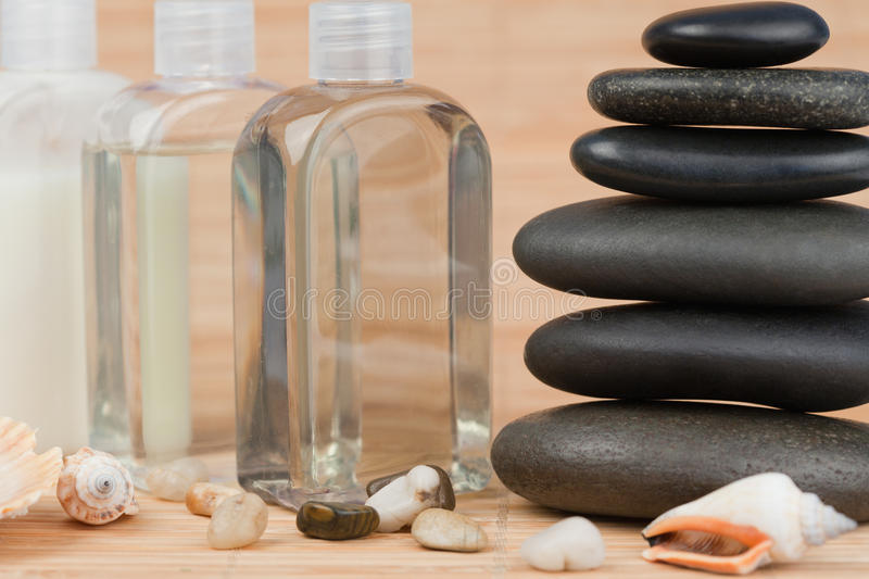 Download Close Up Of Pebbles With A Black Pebbles Stack Royalty Free Stock Image - Image: 19887446