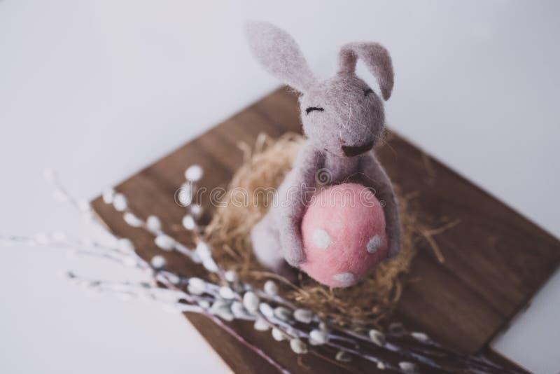 Close-up Photo of Bunny Plush Toy stock photo