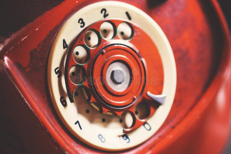 Close-up Photo of Rotary Telephone stock photos