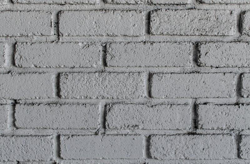 Close up photo of a white bricks wall royalty free stock photography