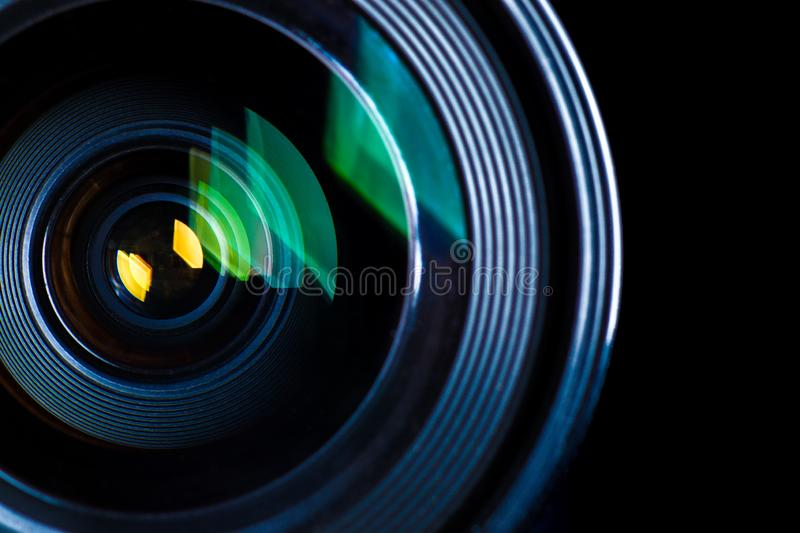Photographic Lens Detail royalty free stock photos