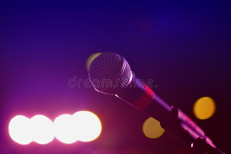 Close Up Photography of Microphone royalty free stock photography