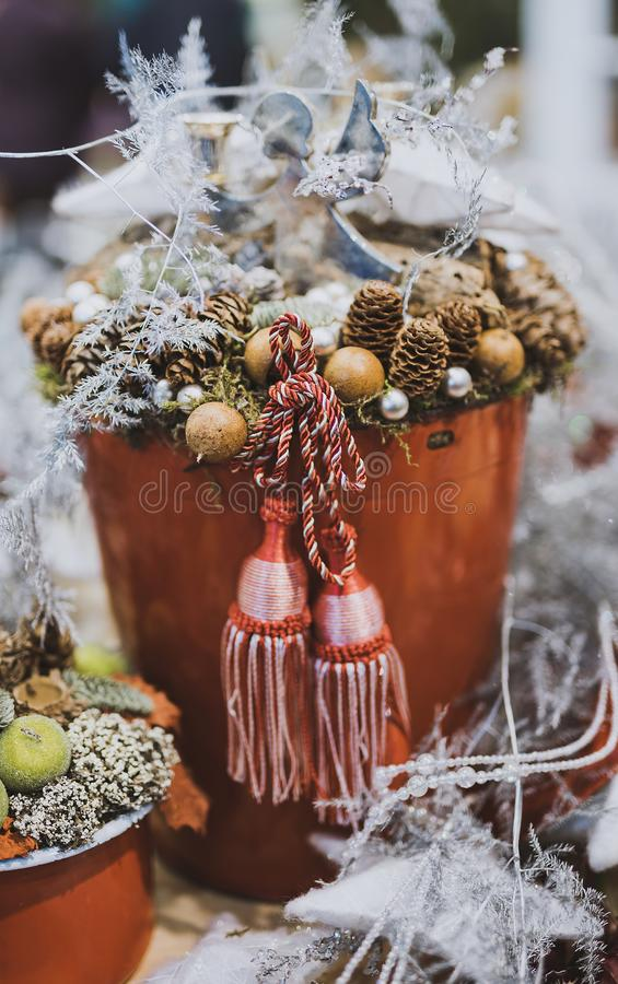 Close Up Photography Of Pine Cone In Tassel Bucket Free Public Domain Cc0 Image