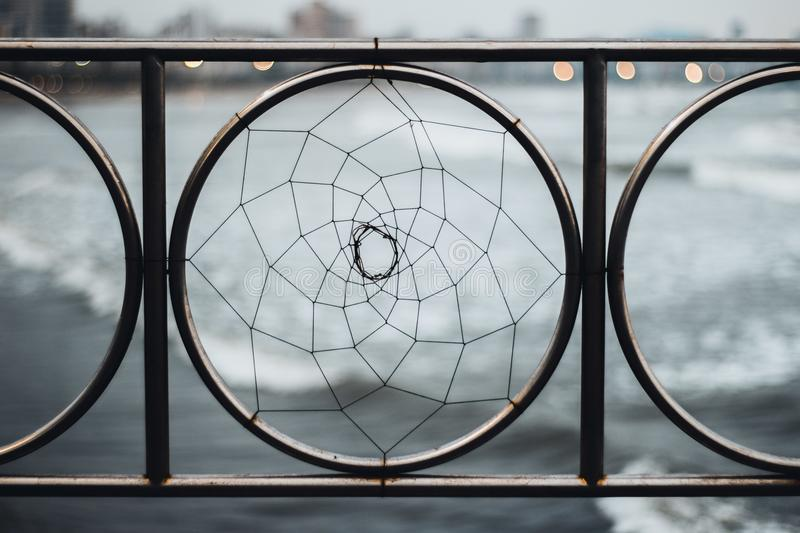 Close-up Photography of Railing stock photography