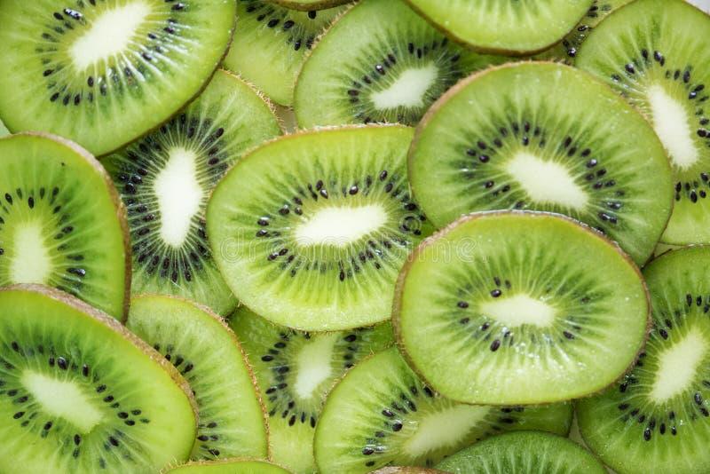 Close-Up Photography of Sliced Kiwi Fruits stock photo