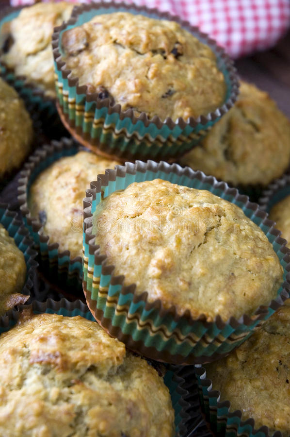 Download Close Up Banana With Cranberries Muffin Stock Image - Image: 30133209
