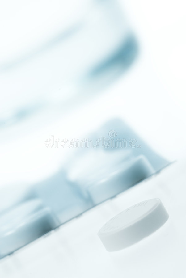 Close-up Of Pills Royalty Free Stock Images