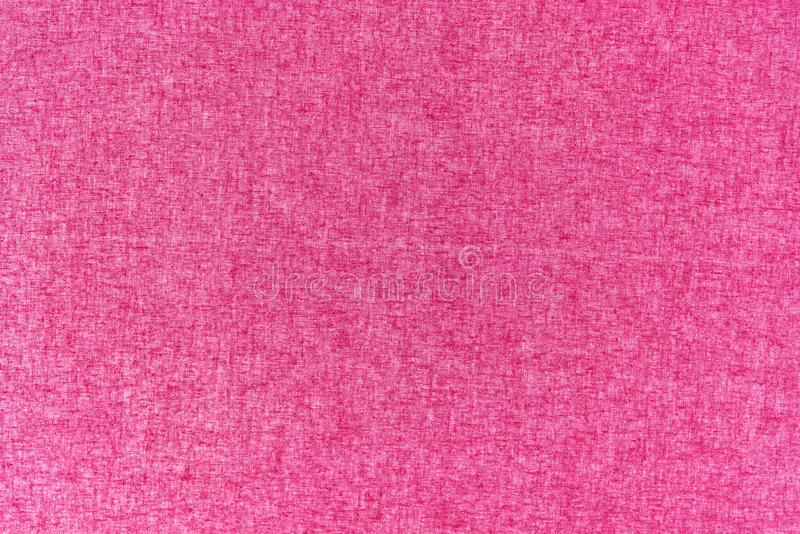 Close up pink fabric texture and background stock illustration
