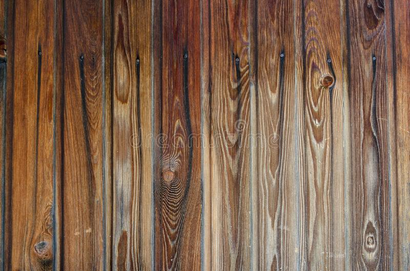 Close up plank wood table floor with natural pattern texture. Empty wooden board background royalty free stock photos