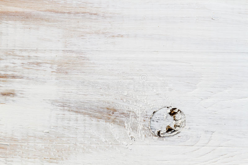 Close-up of planks with knots painted royalty free stock image