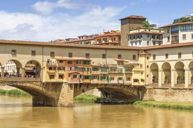 Close up on Ponte vecchio, Florence, Firenze, Italia stock image