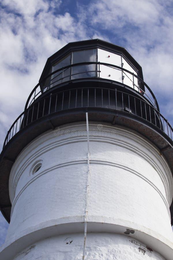 Close-up of Portland Headlight royalty free stock photo