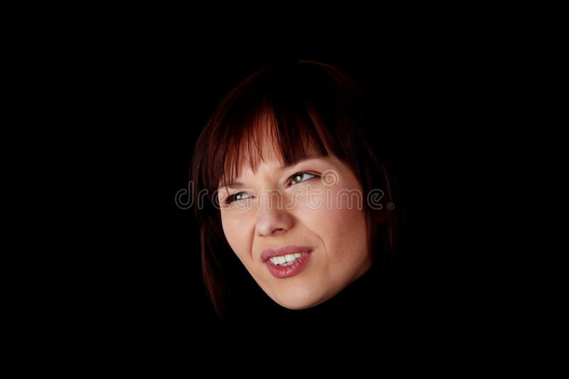 Close up portrait stock photography
