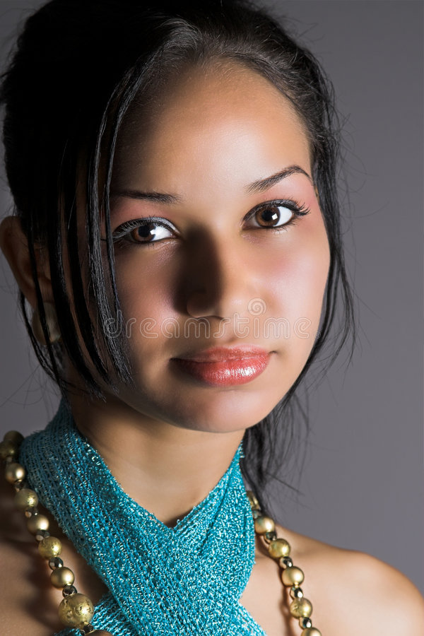Download Close-up portrait stock image. Image of elegance, woman - 2815715
