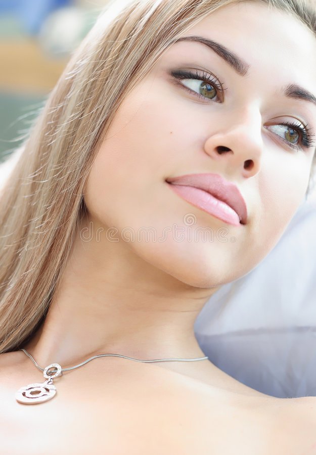 Download Close-up portrait stock image. Image of lifestyles, hair - 4938577